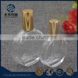 50ml flat clear glass perfume bottle with pump sprayer                                                                                                         Supplier's Choice