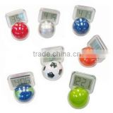 ball shape tumbler clock including football clock and basketball clock)