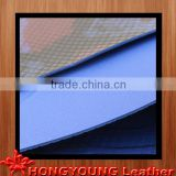 two-tone water-proof snake grain leather for making boat/ship's cover/pad/seat