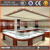 Factory direct sale high quality interior counter design jewellery showroom furniture design