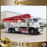 XCMG used concrete mixer truck with pump HB48-B-C-D Concrete Pump Truck