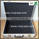 Silver Hot sale factory cheap price with egg-shpped foam inserts aluminum briefcase tool box
