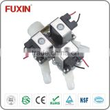 3/4 inch inlet water solenoid valve magnetic valve infrared sanitary multi-way outlet valve