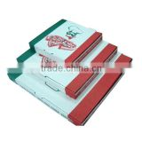 Wholesale custom 6-18'' eco-friendly pizza box/recycle material pizza box from China