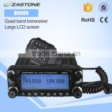 2016 new launch DUAL BAND TRANSCEIVER ZASTONE D9000 dual band mobile car radio transceiver