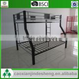 Fashion design easy assembled metal baby bunk bed