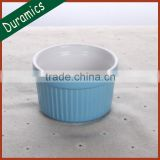 Ceramic ramekin bowl, porcelain cake mould, mini ramekin