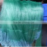 Used 100% nylon monofilamnet fishing net for sale