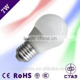 Competitive price led bulb lighting widely use in home lighting E27 constant current driver 7W led bulb