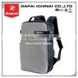 Quanzhou dapai 2015 Hot selling men flat back packs for laptop grey business laptop bag