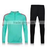 Wholesale good quality portugal football tracksuit blue red portugal soccer training sweater training suit 2016 Euro Cup