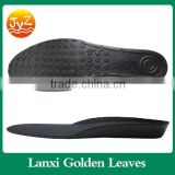 Men women orthopedic height increase insoles, Invisible half PU foot pad shoe,PU sole shoes