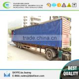 Anti-UV,Tear-resistant Open Top Container Side Curtain,PVC Coated Truck Side Curtain Fabric Tarpaulin