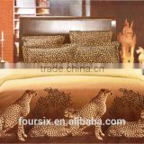 time-limited 2014 hot sale duvet cover bed sheet pillow/cushion 100% combed cotton reavtive printing 3d bedding set