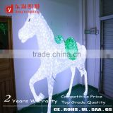 Dongyu Lighting Factory 3d motif horse decoration light abs motif christmas light horse