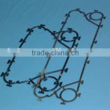 Sondex,Schmidt, Alfa laval, gea and so on related heat exchanger gasket,PHE gasket EPDM NBR VITON material available