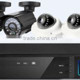 Promoting price 1080N AHD dvr kit with 2*dome camera and 2* bullet camera outlet price p2p remote view and control by phone