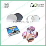 Custom Size tin CD Case/Top Quality tin Packaging Case