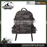 Camo outdoor military backpack,Camouflage tactical backpack,small canvas backpack use as a travel backpack, laptopbag or school
