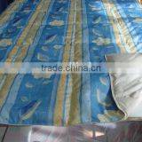 100% polyester Microfiber Fabric Printed Quilt