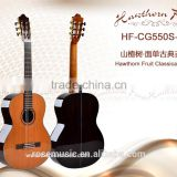 36 inch High quality Solid Cedar top classic guitar made in China guitar factory(HF-CG550S-36)