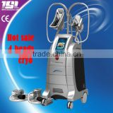 New Design 4 cryo handpiece cryolipolysis for reduction of excess adipose tissue