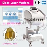 new type 808nm diode laser hair removal commodity. professional machine aim at black skin
