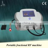 Fractional RF machine, one RF handpiece with multiple treatment tips(eye tip/ face tip/ body tip), cheap price!
