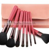 Pro New 8 PCS Cosmetic Brush set Bamboo Handle Synthetic Makeup Brushes Kit make up brush set tools