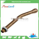 2016 NEW Brass Cannula for Cattle Pig Sheep Horse Veterinary Use