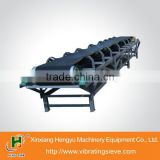 For bulk material horizontal belt conveyor system