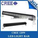 Hot combo beam led work light bar waterproof single row 120w led light bar off-road led lights bar