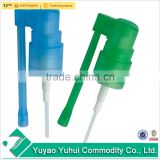 yuyao good quality 20/410 plastic snap on mist sprayer with long nozzle for mouth freshener bottle