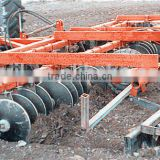 big type huge duty farm tractor use hydraulic combined land preparation machine with disk harrow, disk plough