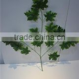 artificial plants artificial leaf branch decor maple leaf