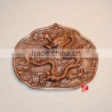 bronze chinese dragon statue for wall decoration