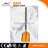 long aluminum handle large good use snow shovel