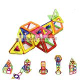 Kids/Children Educational Rainbow Construction Stacking Sets Inspire Magnetic Building Tiles Magnetic w/ Portable Box Package