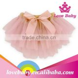 Boutique stylish bowknot children modeling underwear
