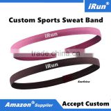 Exercise Anti-slip Hair & Sweatbands Headband for Basketball Soccer Tennis Crossfit Yoga Golf - Amazon Supplier - Custom Size