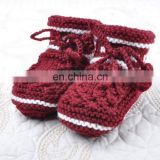 2015 new arrival fashionable hot-selling pretty cute acrylic knitted baby shoes