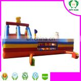 HI Kids Fun City Inflatable Playground Outdoor Gym Playground Equipment Inflatable Fun City