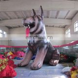 customized outdoor giant advertising husky dog animal costume inflatable for christmas decoration