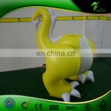 Yellow Customized Inflatable Animal Dragon Pants Inflatable Dragon Figure Costume Dinosaur Suit Balloon