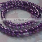 Amethyst Smooth Round Beads/Wholesale Gemstone Beads/Semi Precious Gemstone Round Beads/Color Gemstone Beads