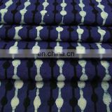 Indigo Blue Cotton Batik Cotton Fabric, Shibori Mud cloth fabric,Hand Block Print Fabric, Indian Printed Cotton Fabric