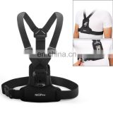 2018 trending products accessories Elastic Fibers Diving Material Chest Belt for GoPro Hero 4 / 3+ / 3 / 2 / 1