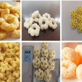 Automatic Puffed corn Snacks food making machine production line/corn flakes machine