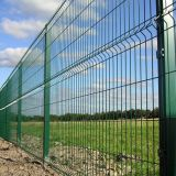Welded Wire mesh fence panel in Europe style