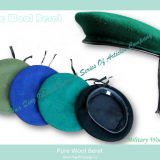 pure wool military beret